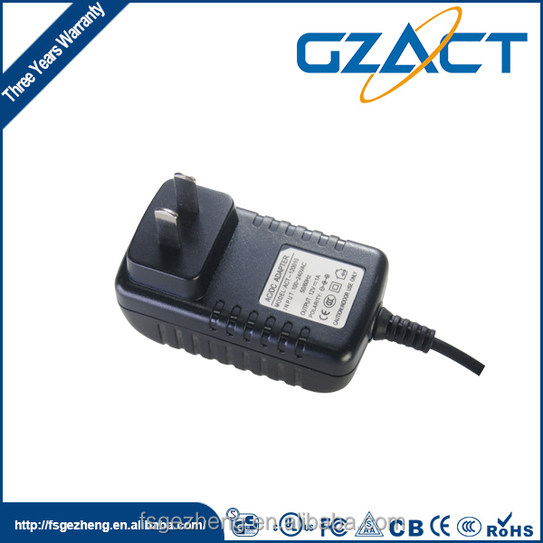 CE approved UL listed 12v 500ma ahead ac adaptor