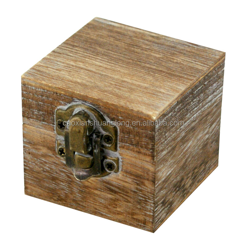 Best selling vintage style wooden ring and watch box, jewelry box for teenage girl