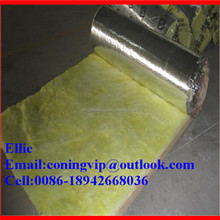 Aluminum foil faced fiberglass wool insulation