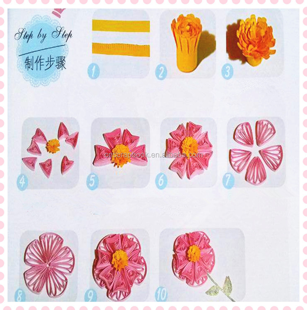 Handmade Quilling Paper Art For Diy Birthday Cardspaper Quilling