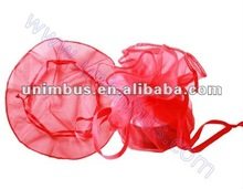organza bridal favor bags,tulle circle pouch