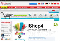 e-commerce website ishop 4&website design b2b b2c c2c