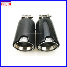 NEW M Performance Carbon Fiber Exhaust Tip for M3 M4 M5 2012- car-styling Akrapovic car exhaust muffler nozzle tip
