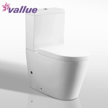 China manufacturer two piece price ceramic sanitary water closet ivory color toilet