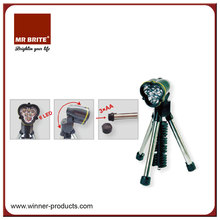 6 LED Tripod Flashlight
