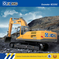 XCMG official manufacturer XE335C 30ton chinese excavator for sale