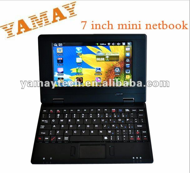Lowest price 7 inch VIA 8650 WM8650 mini netbook