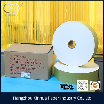 16.5g 125mm tea bag filter paper