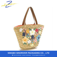 new arrival straw beach bag