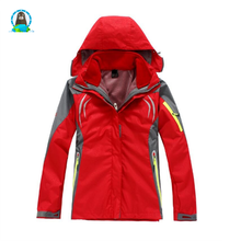Ladies' outdoor jackets windproof and waterproof sports camping mountaineering <strong>sportswear</strong>