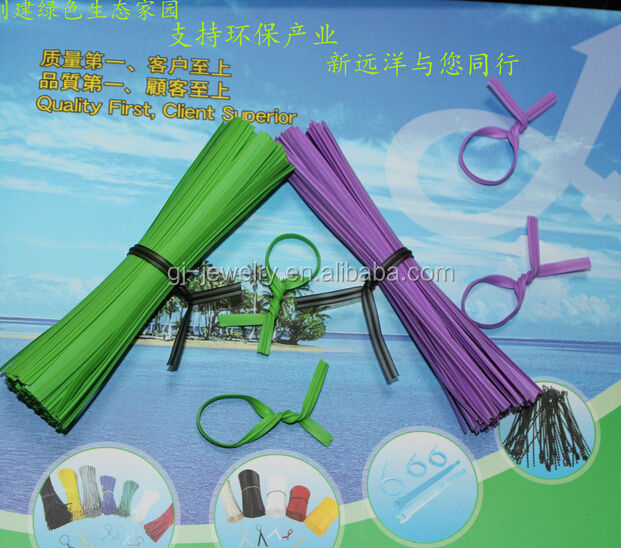 2014 Top sell High quality plastic twist tie