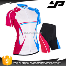 Custom sublimation women china cycling clothes custom bicycle wear personalized