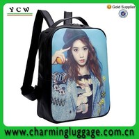 china manufacturer lovely girl picture school bag