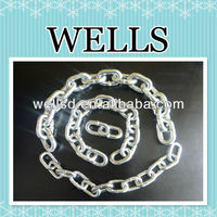 Manufacture direct selling DIN766 iron welded galvanized link chain