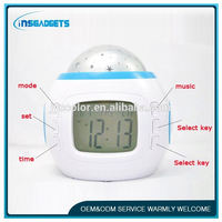 wall clocks wholesale ,HL-894 lcd table clock , gear wall clock