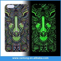 Factory Popular top sale customize noctilucent printing phone cases covers from China