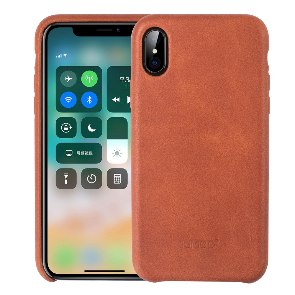 High Quality For iPhone X Leather Case Luxury Mobile Phone Cases Cover For iPhone X