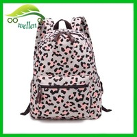 fashion bags PU leather leopard laptop bag back wholesale yiwu