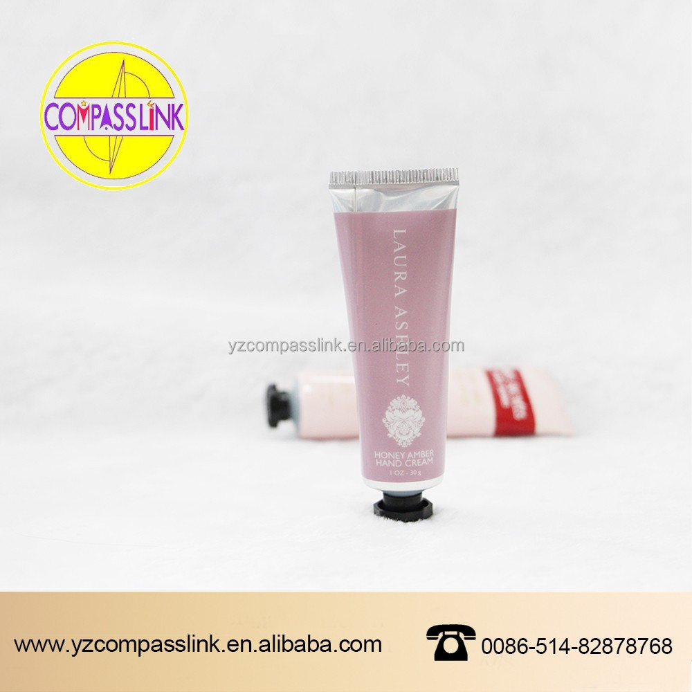 D35mm Round Hand Cream Plastic Cosmetic Tube With Eight Angle