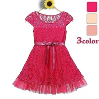 Kids Traditional Dresses Wholesale Children's Boutique Clothing Dresses Girls 4 Years Simple