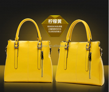 Internet golden supplier woman genuine leather hand bags with factory direct supply