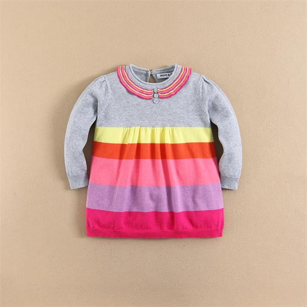 MOM AND BAB Brand High Quality Children Girls Dress High Quality Children Clothing