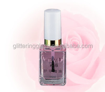 15ml square nail polish bottle made from manufacturer
