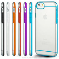 Clear Transparent TPU Silicone Bumper Case Cover For Apple iPhone 6s Plus