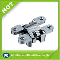 Good quality zinc alloy concealed door hinge for cheap price