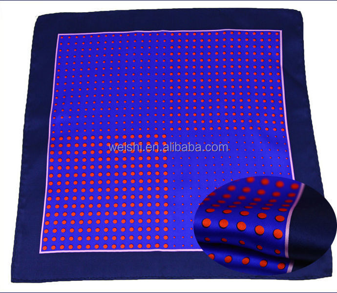 fashion dot silk scarf with high quality