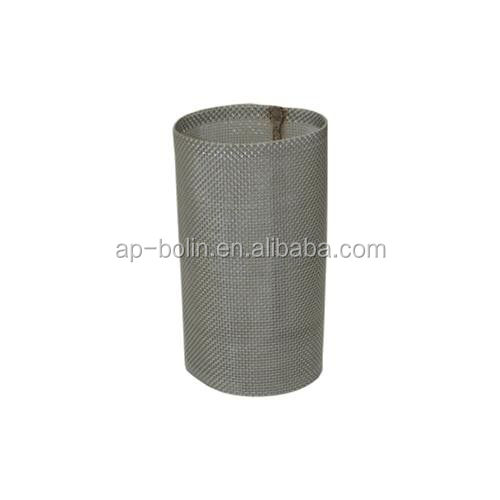 304grade SS 20 40 50 80 100mesh clear inline hose filter for Y-line strainers
