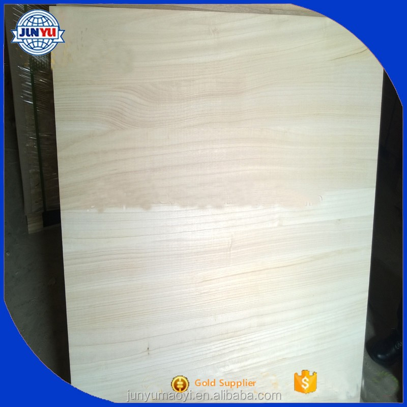 both side Grade AA paulownia edge wood boards on sale
