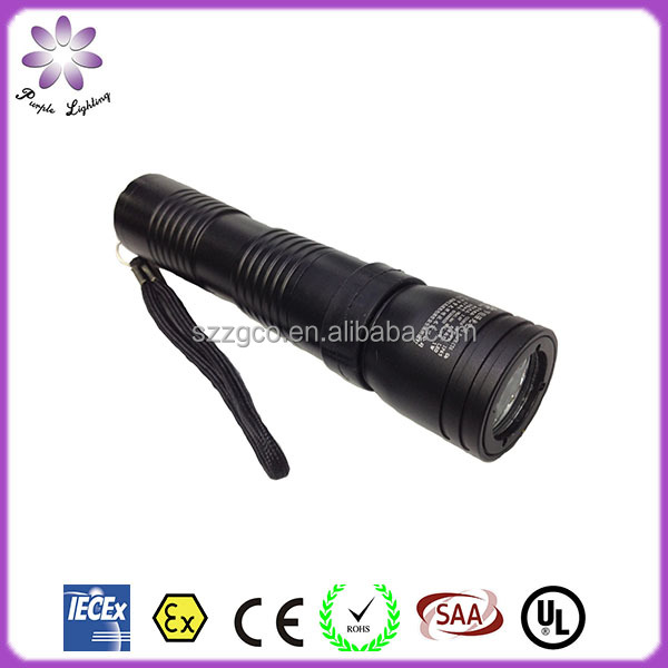IP65 High Quality Rechargable Explosion Proof LED Flashlight