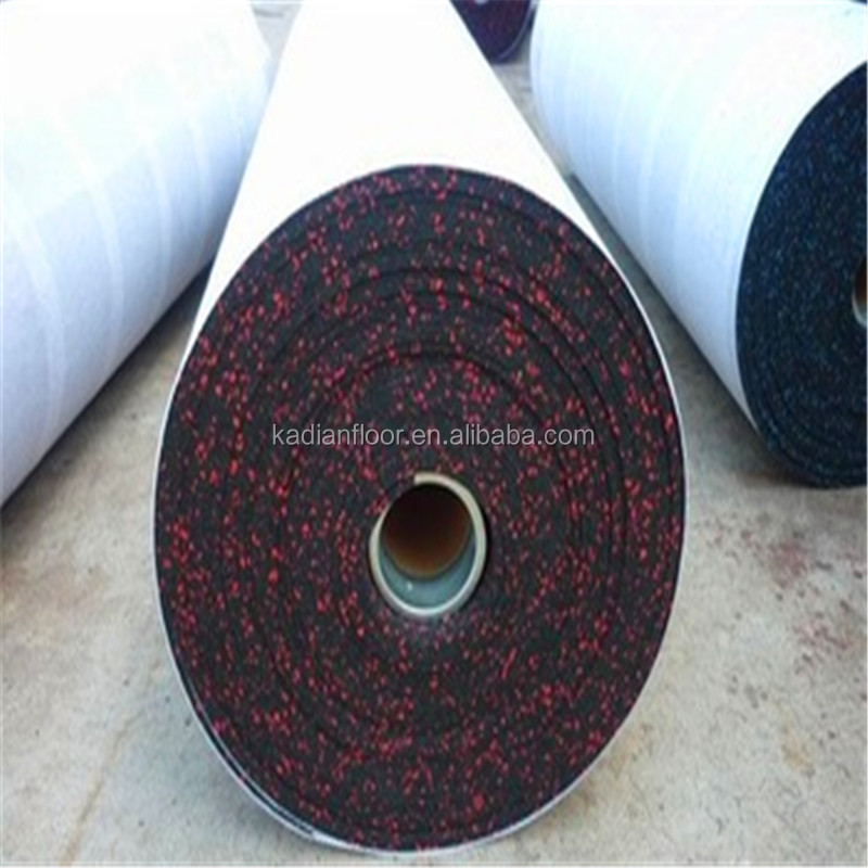 Sound insulation heat reservation gym rubber flooring lowes