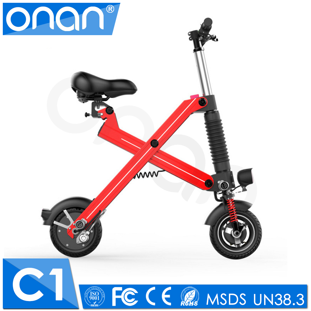 Folding E Scooter Electric Seatable Folding Scooter