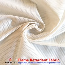 hospital equipment flame retardant 100% polyester small dobby jacquard hospital cubicle curtain fabric