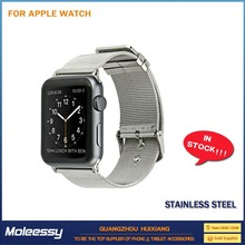 Safety and new design for apple watch stainless steel watch band