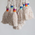 160CM Mixed color tassel cord Garment accessories