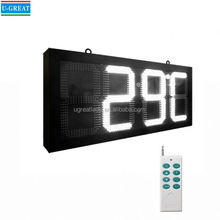 Hot sale lower price and high quality GPS led digital clock outdoor use