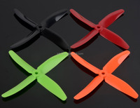 2016 latest 5040 CW CCW 5x4 inch 4 blade plastic rc aircraft propeller for FPV racing drones