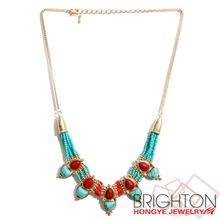Ethnic Style Colorful Seed Beads Necklace N6-8582-6400