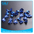 Hot Saling triangle Shape GuoJie Crystal Zirconia For Jewelry