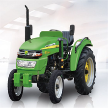 Farm 2 WD Mini Tractor With Front End Loader and Backhoe