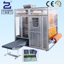 automatic sugar salt four side sealing bag and multi-line packing machine