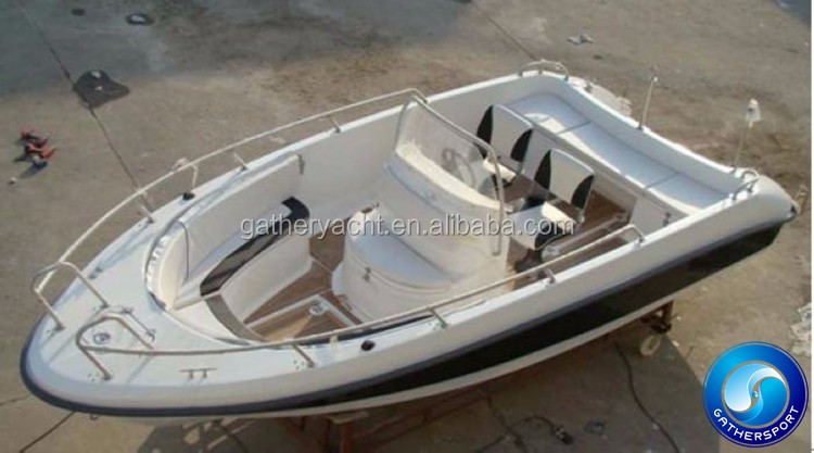 hot sale 19ft fiberglass fishing boat