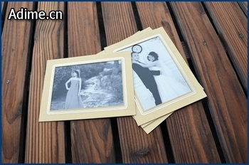 4x6 5x7 collage paper cardboard matted photo frame mats with foil stamp