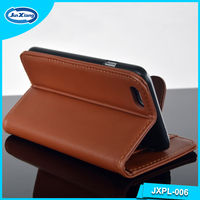 Alibaba Express Customized Hard Mobile Wallet Leather Case for iphone 6