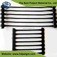 PP HDPE Uniaxial Geogrid Reinforcement