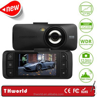 wholesale Manual Car Camera HD DVR with dual camera 2.7 inch A10 chipset