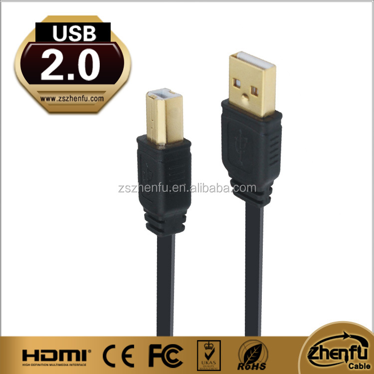 Hot sell delicate multicolor micro usb 2.0 shielded high speed cable